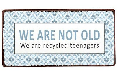 IB Laursen Magnet We are not old We are recycled teenagers Kühlschrank nostalgie