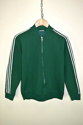 vtg 80s ADIDAS ATP EARLY VENTEX RARE TRACK JACKET TRACKSUIT TOP CASUALS size S