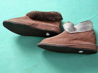 Slippers, Lined with Lambskin, Slippers Women Ankle Size 35 - 40