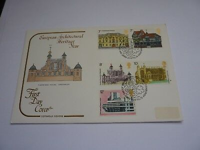 European Architectural Heritage Year 1975 Cotswold FDC