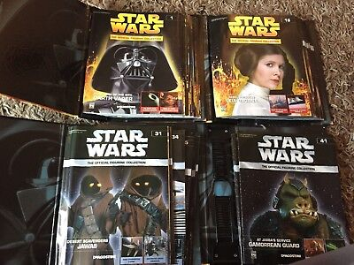 Deagostini Star Wars The Official Figurine Collection, 46 Issues