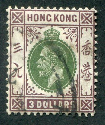 HONG KONG  145  Very  Nice  Used  Issue  GEORGE V  UPTOWN 36673