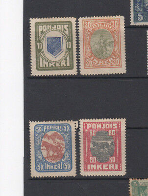 A very nice Unused Ingermanland group of issues