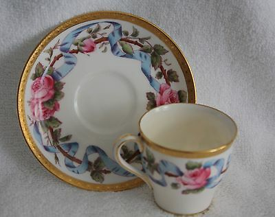 Antique Minton H705 Demitasse and Saucer