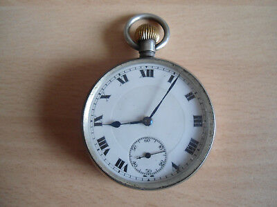Antique Silver Pocket Watch in Working Order but selling for spares