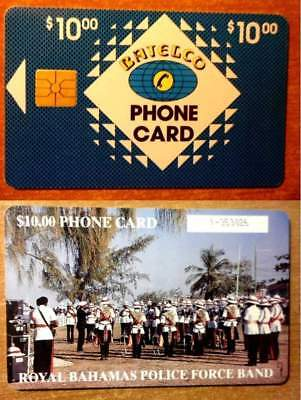 Bahamas Bah C6C  - Police Force Band - Gem1 - Number In Box