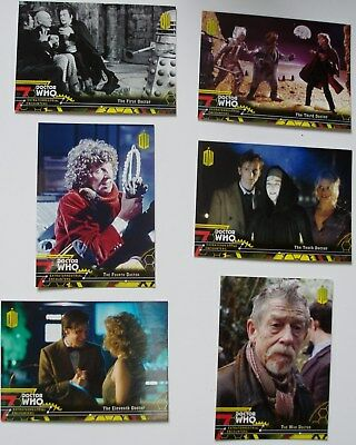 Topps Doctor Who Extraterrestrial Encounters yellow paralell set