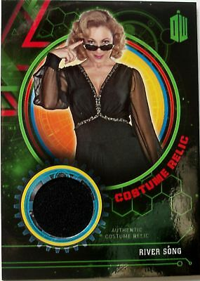 Topps Doctor Who Extraterrestrial Encounters River Song costume card