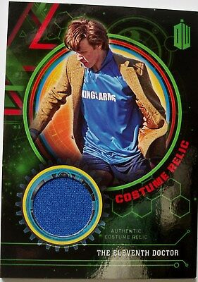 Topps Doctor Who Extraterrestrial Encounters Eleventh Doctor relic card 120/199