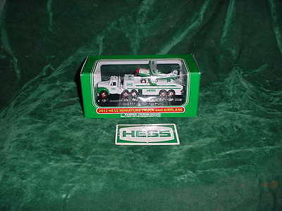 2012 Hess Truck Great Easter Basket Gift Miniature Truck And Airplane Truck Toys
