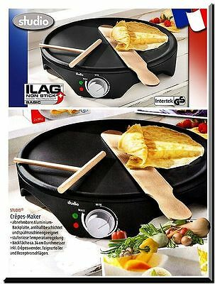 Kitchenware Backen Diät Grill Crêpes Crepes Maker 34cm Pfann Kuchen Fladenbrot