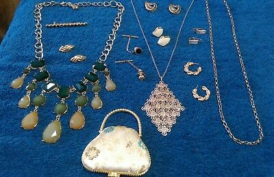 Vintage Estate Lot of Jewelry ...