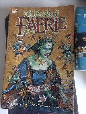 THE BOOK OF FAERIE - GRAPHIC NOVEL + BoM annual Arcana