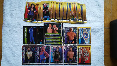 WWE Slam Attax 10th Edition Karten Sammlung Champion NXT Holo Topps Orton raw
