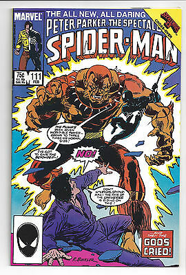 1986 Marvel Comics Spectacular Spider-Man #111 vf-nm from my personal collection