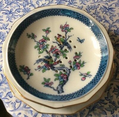 Losol Ware Chartley Keeling & Co Ltd. Serving Bowl And Plate