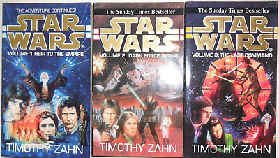 3 x TIMOTHY ZAHN - Star Wars trilogy