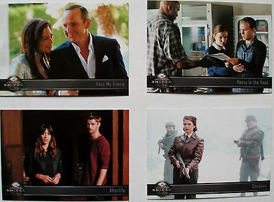 Agents of Shield season two set of 72 cards Rittenhouse