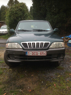 Ssangyong Musso TD 5 Places Utilitaire
