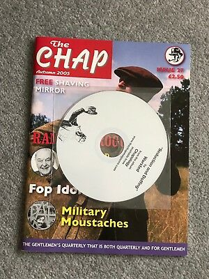 RARE The Chap Magazine (Autumn 2005) With Free CD
