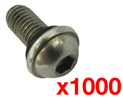 Kart Wheel Bead Screw w/ Rubber O-Ring x 1000