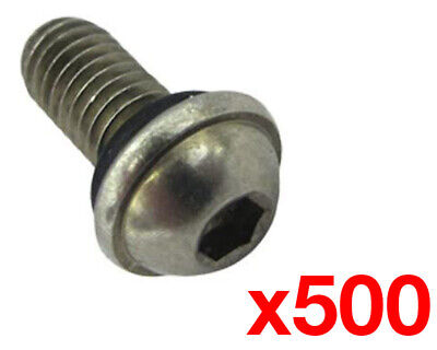 Kart Wheel Bead Screw w/ Rubber O-Ring x 500