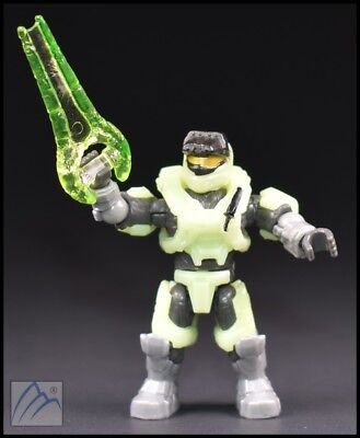 97515 HALO MEGA Bloks Unsc Spartan Scout Infected Zombie Glow-In-The-Dark