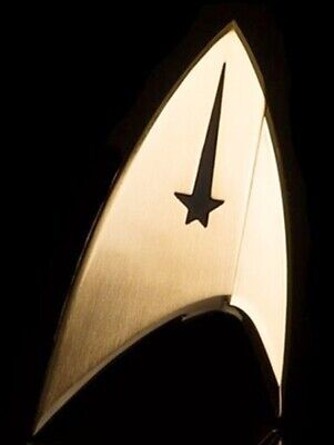 Star Trek Discovery TV Series Command Insignia Clutch Pin Back Metal Badge Pin