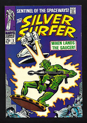 Silver Surfer #2  Very Fine Near Mint 9.0! Absolutely Beautiful Book! 1St Badoon