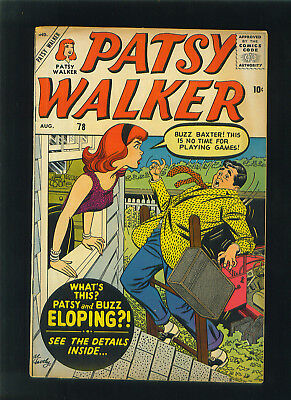PATSY WALKER August 1958 Comic Book Issue 78 HELLCAT Avengers Defenders