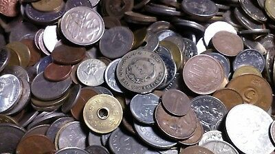 15 LBS Pounds of mixed circulated World / FOREIGN COINS!