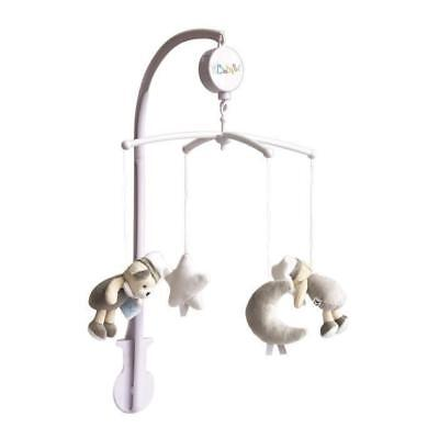 BABY NAT Mobile Musical les Luminescents Gris Taupe