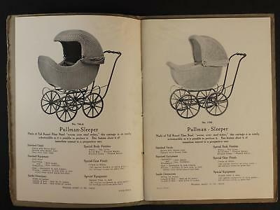 1918-1919 OUTING KUMFY-KAB COMPANY BABY BUGGY CATALOG~56 Pages