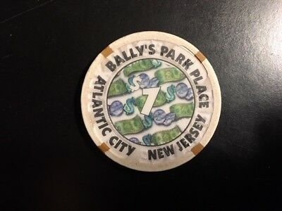 Bally's Park Place $1 Casino Chip - Atlantic City, New Jersey