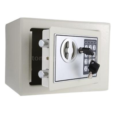 Digital Electronic Safe Box Keypad Lock Security Wall Mount for Home Office X3P1