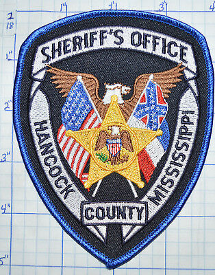 Mississippi, Hancock County Sheriff's Office Patch