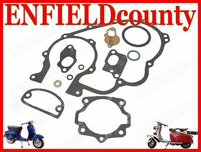 New Vespa Complete Engine Gasket Kit 2 Transfer Ports @cad