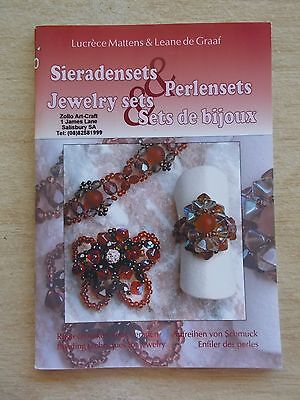 Jewelry Sets~Lucrece Mattens & Leane de Graaf~Beading Projects~Multilingual~48pp