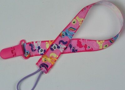 Extra long pacifier clip MLP