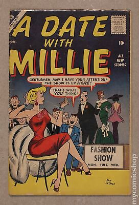 Date with Millie (1st series) #2 1956 GD/VG 3.0
