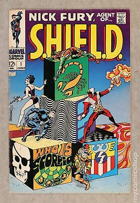 Nick Fury Agent of SHIELD (1st Series) #1 1968 VG+ 4.5