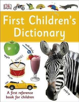 First Childrens Dictionary, DK, 9780241228272
