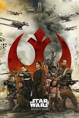 Star Wars Rogue One Rebels Maxi Poster 61cm x 91.5cm new and sealed