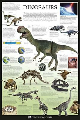 Dinosaurs Dorling Kindersley Maxi Poster 61cm x 91.5cm new and sealed