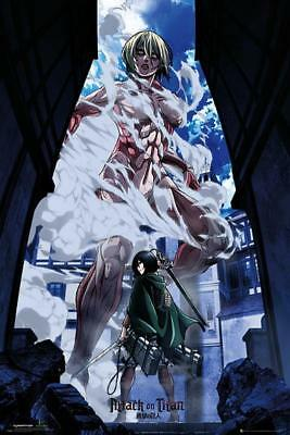 Attack on Titan Part 2 : Art - Maxi Poster 61cm x 91.5cm new and sealed