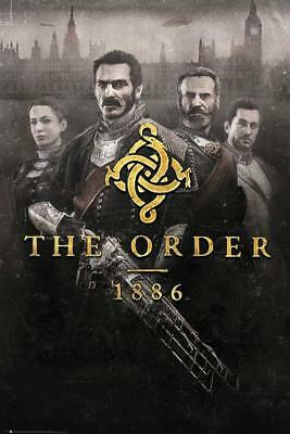 The Order 1886 : Key Art - Maxi Poster 61cm x 91.5cm new and sealed