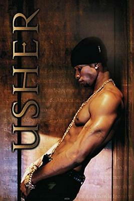 Usher : Leaning - Maxi Poster 61cm x 91.5cm new and sealed