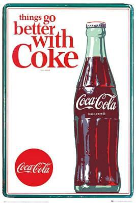 Coca Cola : Things Go Better - Maxi Poster 61cm x 91.5cm new and sealed