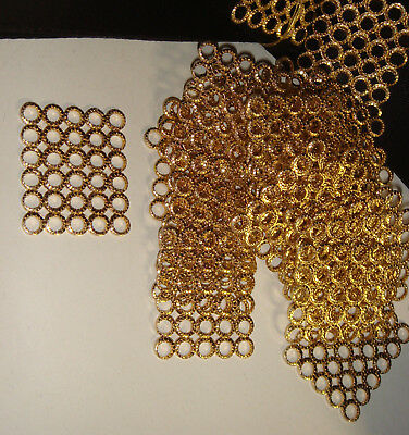 GOLD PLATED CONNECTORS FINDINGS SPACERS  29 x 24mm  24 PCS
