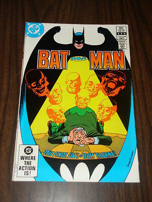 Batman #354 Dc Comics Dark Knight Nice Condition December 1982